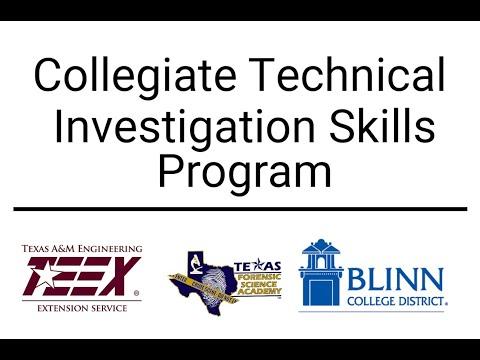First Class of TEEX Collegiate Technical Investigation Skills ...