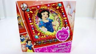 Волшебная шкатулка Принцессы Диснея. Украшаем шкатулку своими руками. Для детского творчества. ИДК