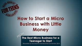 How to Start a Micro Business with Little Money