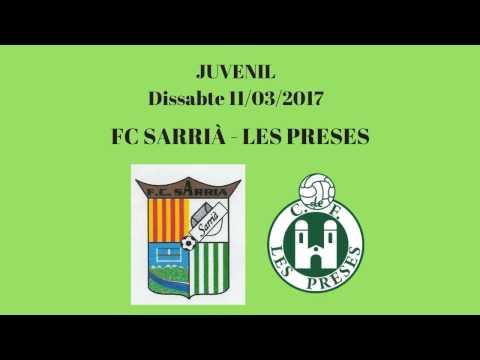 FC SARRIÀ - LES PRESES