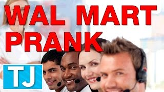 Wal Mart Prank Call: Connecting 8 Wal Marts at Once