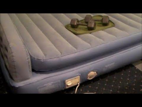 Repair Air Mattress Air Bed leaks and tears with hot melt glue gun