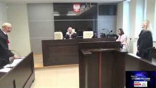 Adolf Kudliński ofiarą systemu! Pełna relacja z Sądu Rejonowego i wyrok.