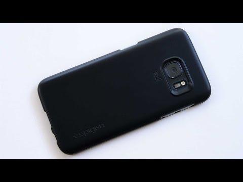 Samsung Galaxy S7: Spigen Thin Fit Hülle im Unboxing & Kurztest