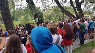 Россия 🇷🇺 - Испания🇪🇸 Серия Пенальти Белгород Парк Победы!!!