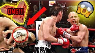 Boxer Hides Bricks In His Gloves **EXTREME**