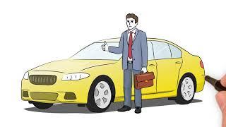 Рекламный ролик для автоломбарда в формате doodlevideo