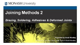 Joining Methods 2: Brazing, Soldering, Adhesives And Plastic Deformation