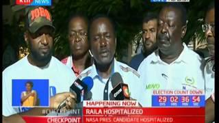 NASA co-principals address Raila Odinga's hospitalization