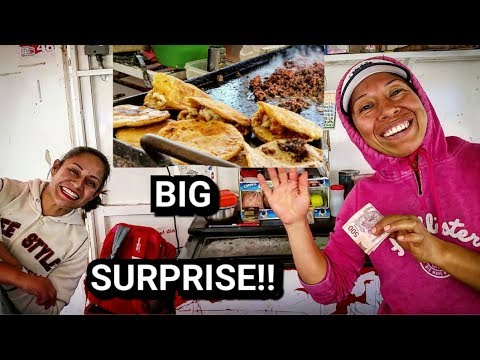 TIPPING $100 DOLLARS AT MEXICAN STEET FOOD STAND - Courtesy of my SUBSCRIBERS!!!
