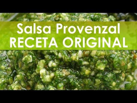 Salsa Provenzal Receta Original 6 Pasos Simples y Fáciles