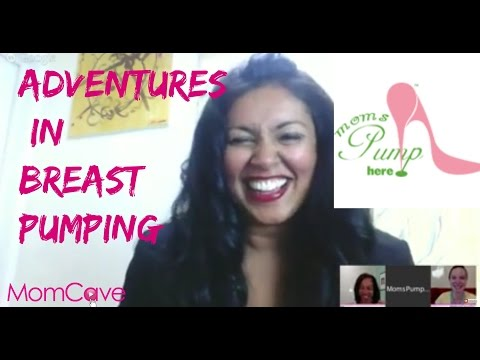 MomCave Interview MomsPumpHere - Breastfeeding Adventures