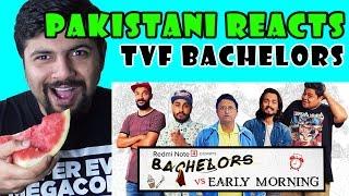 Pakistani Reacts to TVF Bachelors vs Early Mornings ft B.B Ki Vine