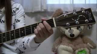 YUI Happy Birthday to you you 弾き語り/cover