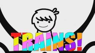 """asdfmovie Songs Mix (Including """"I like trains"""", """"Mine Turtle"""" and """"Everybody do the Flop"""")"""