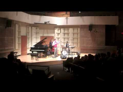 """Tyler Aukerman Trio performing Pat Metheny's """"Question and Answer"""""""