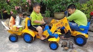 Trò Chơi Bé Vui Ra Chợ Bán Cá ❤ ChiChi ToysReview TV ❤ Đồ Chơi Trẻ Em Baby Fun Song Bài Hát Vần Thơ