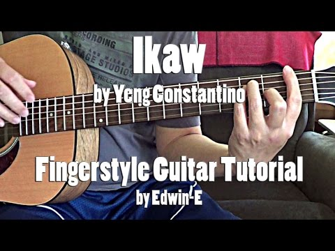 """Guitar Tutorial: """"Ikaw"""" by Yeng Constantino (free TABS ..."""