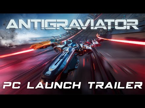 Antigraviator - Official PC Launch Trailer (4K) thumbnail