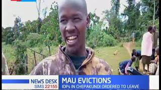 IDPs ordered to leave Mau forest as government maintains that eviction still stands