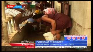 Five people die in various parts of Kwale county after they were swept away by raging floods