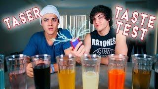 TASER taste test CHALLENGE