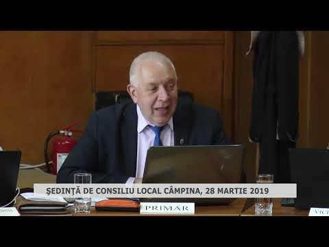 Şedinţa Consiliu Local Câmpina 28 03 2019