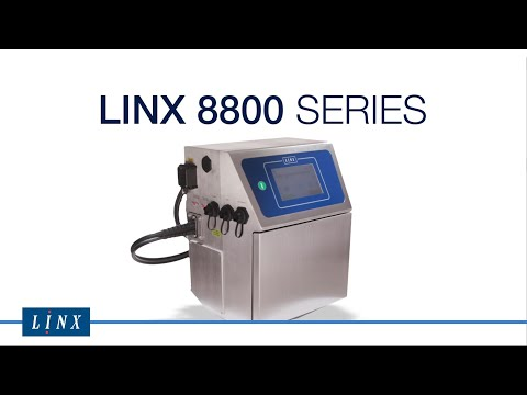 Linx 8800 Series Continuous Inkjet Printer