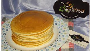 Pancakes شهيوات ريحانة كمال بان كيك بمكونات سهلة وناجحة