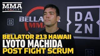 Bellator 213: Lyoto Machida Says He Felt 'Kind of Lost' Early in Promotional Debut - MMA Fighting
