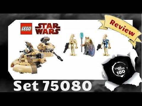 Vidéo LEGO Star Wars 75080 : AAT