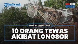 Tim SAR Gabungan Baru Temukan 12 Korban Tanah Longsor di Nganjuk, 9 Masih Dicari