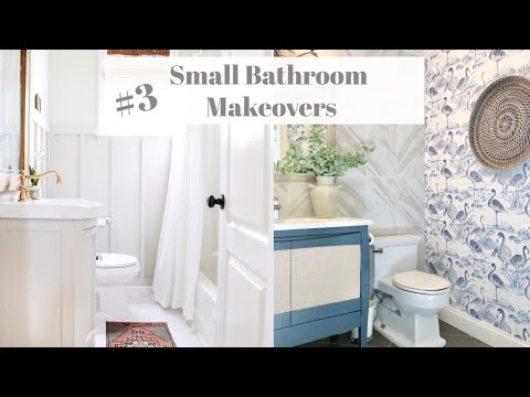 Small Bathroom Makeover | Interior Design