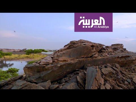 العرب اليوم - شاهد: تاريخ وحقائق لنقوش أثرية منذ 8000 عام على الجزيرة العربية