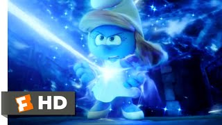 Smurfs: The Lost Village (2017) - The Power of Smurfette Scene (8/10) | Movieclips