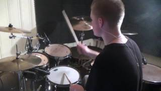 Arch Enemy - Shadow On The Wall - Drum Cover (HD)