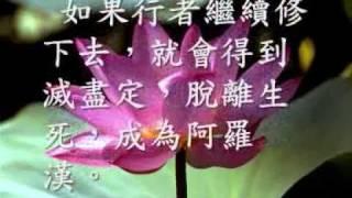 四禪八定 (觀成法師之廣結善緣1008-1010)