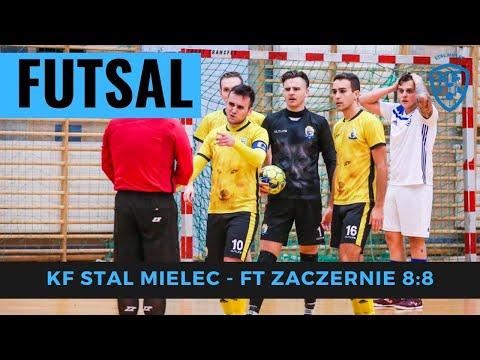 WIDEO: KF Stal Mielec 8-8 Futsal Team Zaczernie [SKRÓT MECZU]