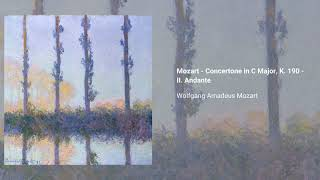 Concertone in C major, K. 190