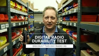 Digital Two-Way Radio Durability Review - The Drop Test