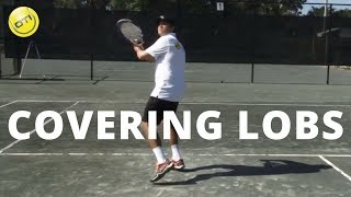 Tennis Tip: How To Cover Lobs