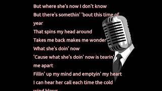 Garth Brooks - What She's Doing Now (lyrics)