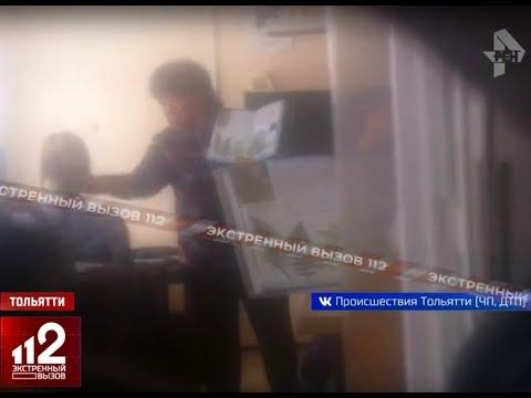 Учитель избила ученика. Видео!