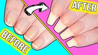 The only Youtube Videos you will EVER need to GROW your nails long & strong (and do them at HOME
