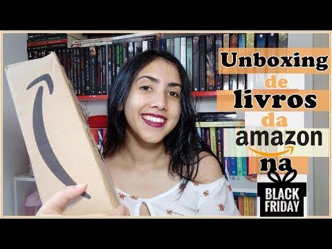 UNBOXING |Black Friday |PROMOÇÃO  AMAZON |Leticia Ferfer | Livro Livro Meu