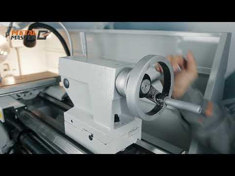 Промышленный токарно-винторезный станок с УЦИ Metal Master ZX41100