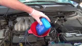 Oil Change & Filter Replacement Ford Taurus