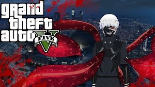 "Gta 5 online: ""How to create Ken Kaneki"""