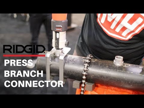 RIDGID Press-In Branch Connector Tool Kit