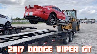 Rebuilding a Wrecked 2017 Dodge Viper GT